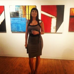 art, painter, abstract, kitchener, waterloo, interviews, artists in KW, Abstract Artist, Jennifer Gough
